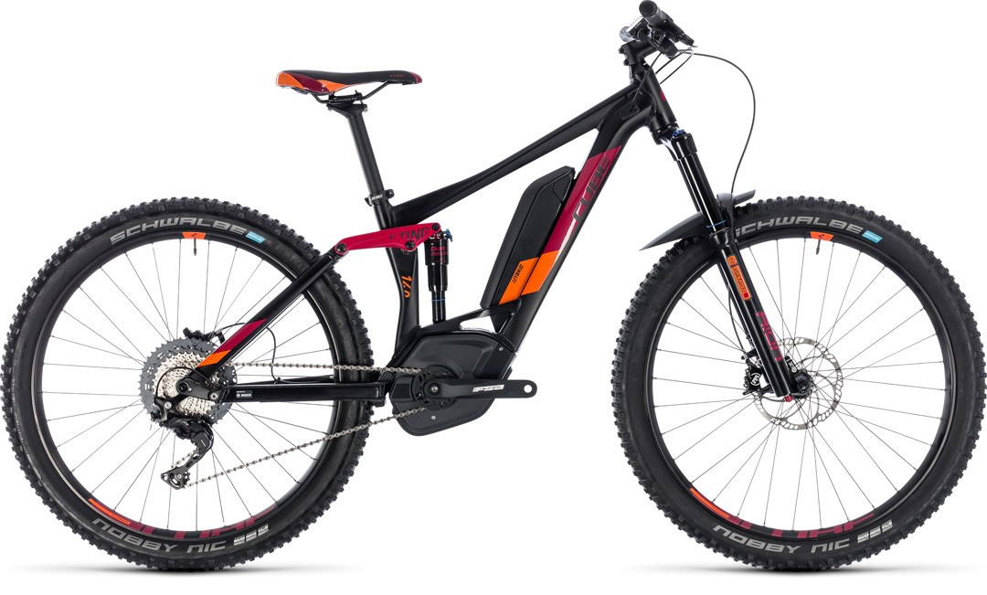 Sting Hybrid 140 Race 500 27.5 black´n´berry