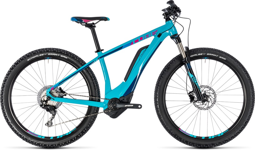 Access Hybrid Race 500 turquoise´n´raspberry