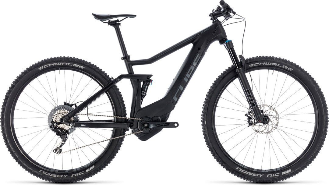 Stereo Hybrid 120 HPC Race 500 black´n´grey