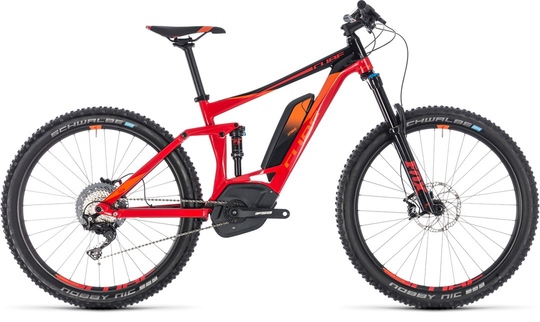 Stereo Hybrid 140 Race 500 27.5 red´n´orange