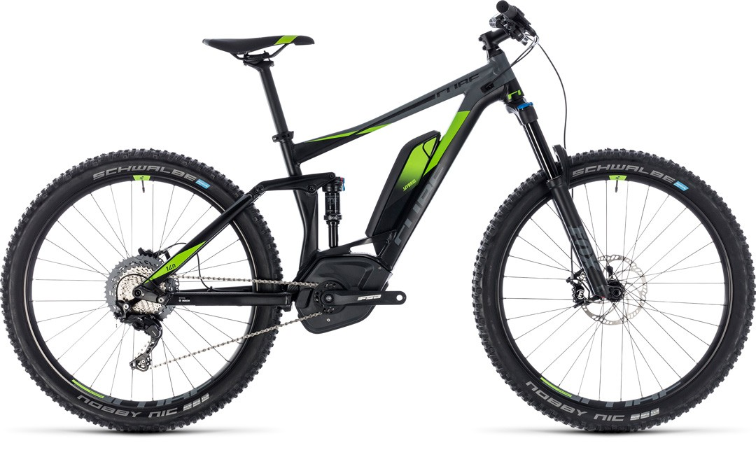 Stereo Hybrid 140 Race 500 27.5 black´n´green
