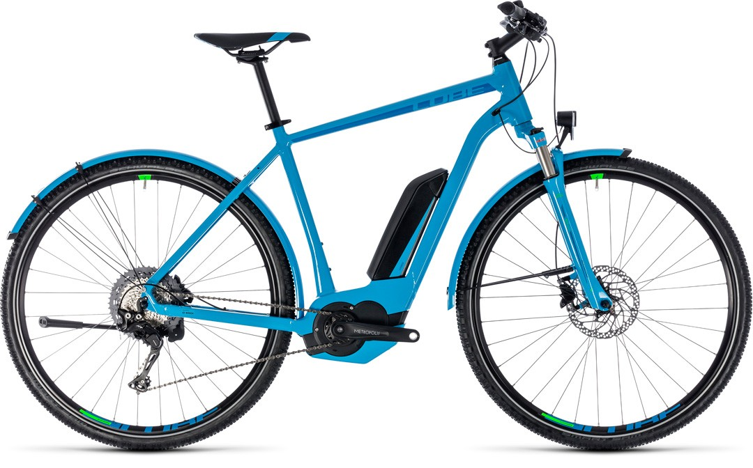 Cross Hybrid Race Allroad 500 blue´n´green