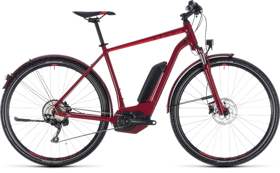 Cross Hybrid Pro Allroad 500 darkred´n´red