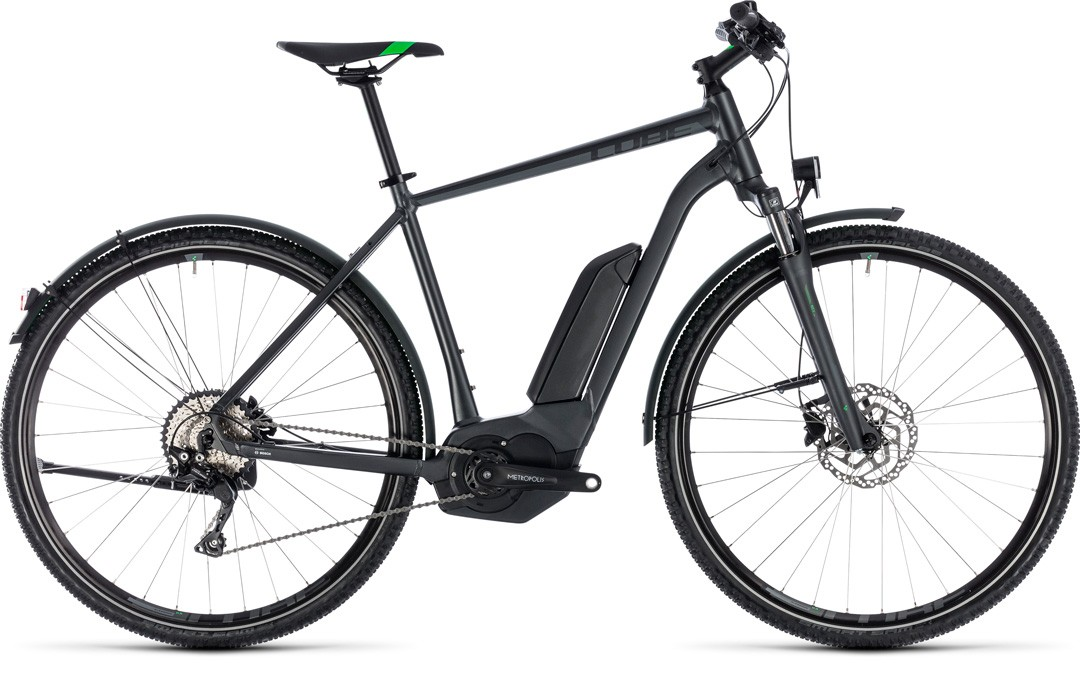 Cross Hybrid Pro Allroad 500 grey´n´flashgreen