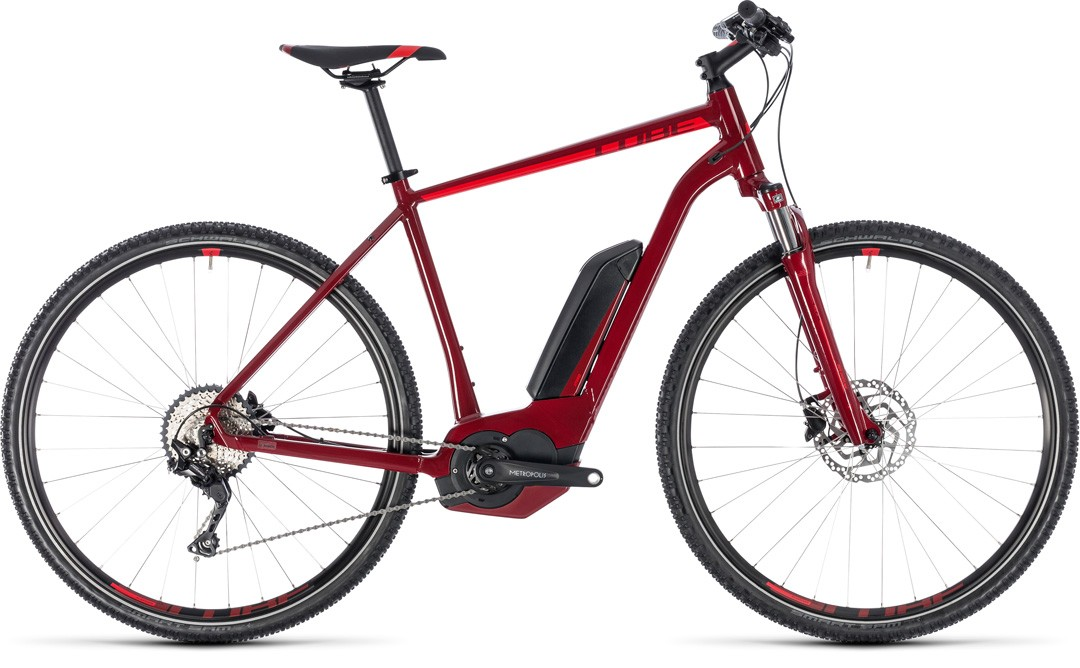 Cross Hybrid Pro 400 darkred´n´red