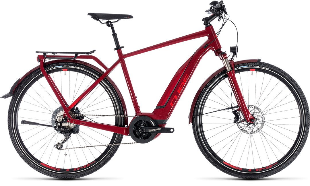 Touring Hybrid EXC 500 darkred´n´red
