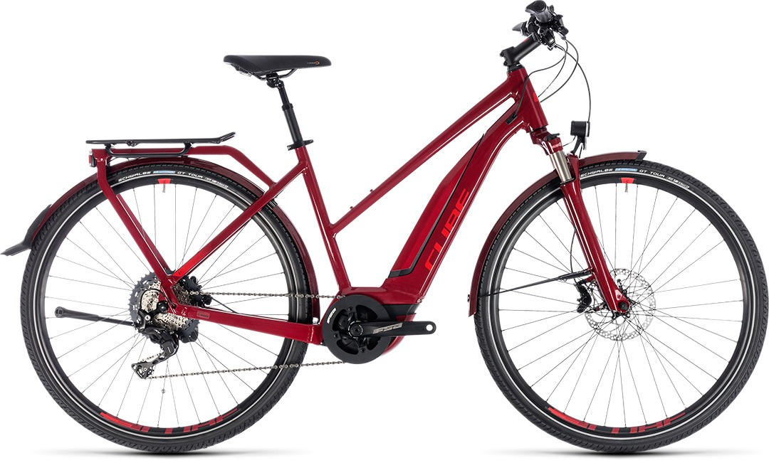 Touring Hybrid EXC 500 darkred´n´red Trapeze