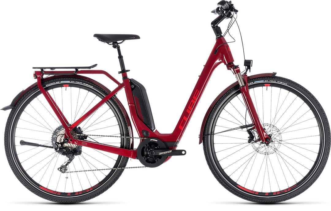 Touring Hybrid EXC 500 darkred´n´red Easy Entry