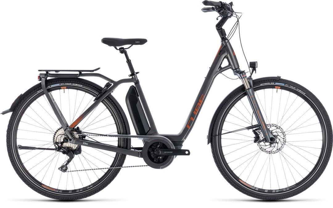 Town Hybrid Sport Pro 500 grey´n´copper Easy Entry