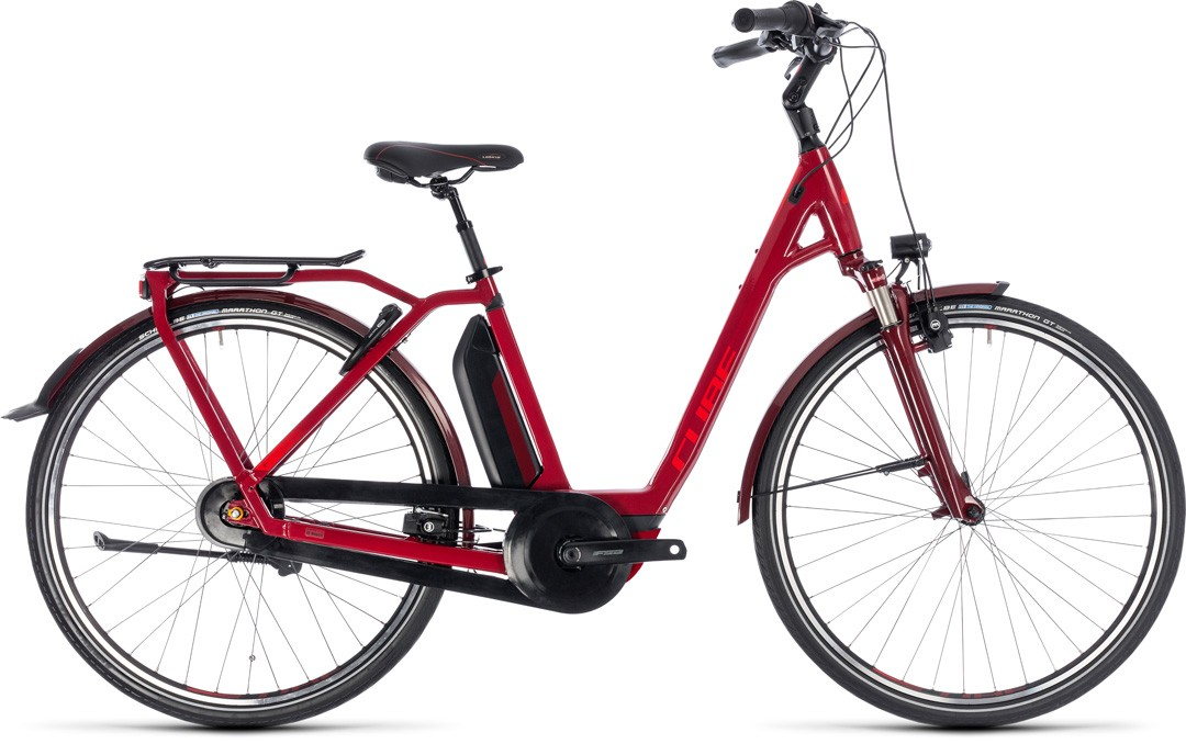 Town Hybrid Pro 500 darkred´n´red Easy Entry
