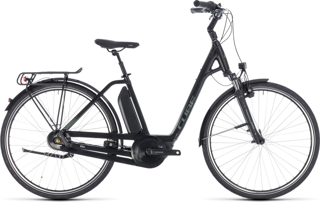 Town Hybrid ONE 500 black´n´frostgreen Easy Entry