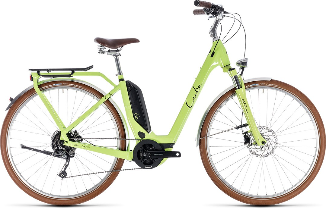 Elly Ride Hybrid 400 green´n´black Easy Entry