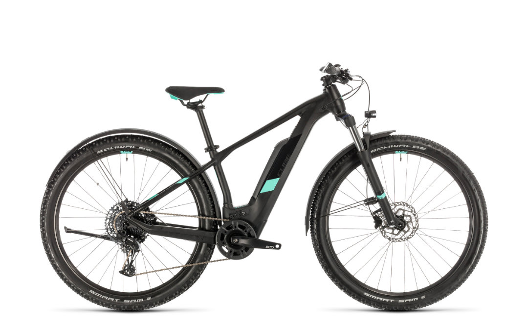 Cube Access Hybrid Pro 500 Allroad black´n´mint 2020