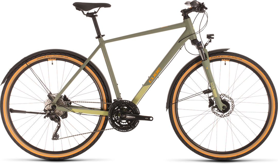 Cube Nature EXC Allroad green`n´orange 2020