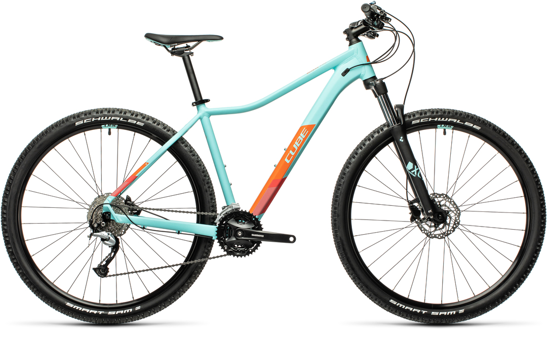Cube Access WS Pro iceblue´n´orange