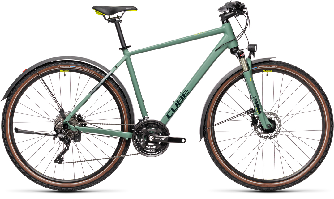 Cube Nature EXC Allroad green´n´blue