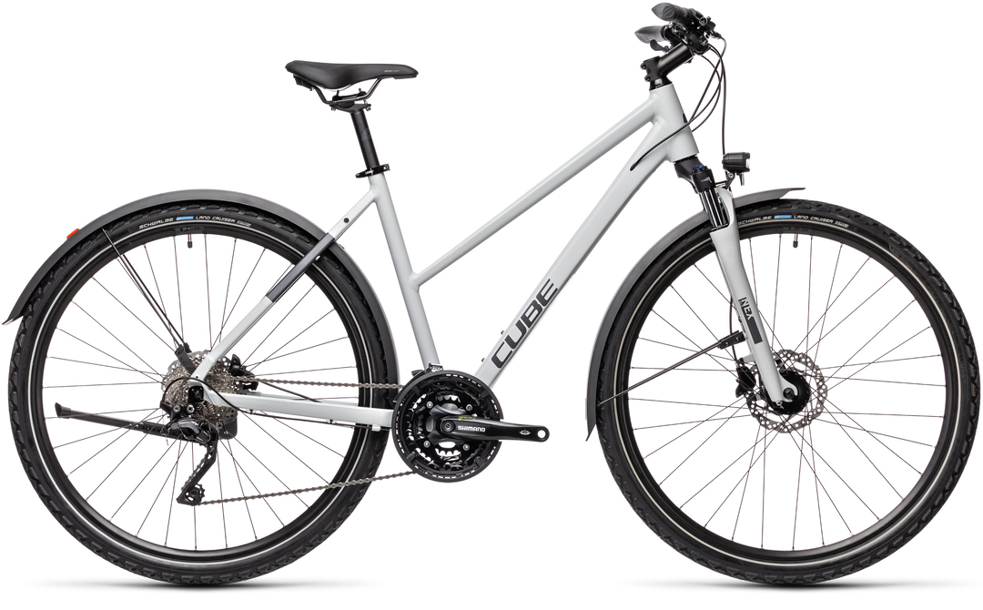Cube Nature Pro Allroad grey´n´iridium