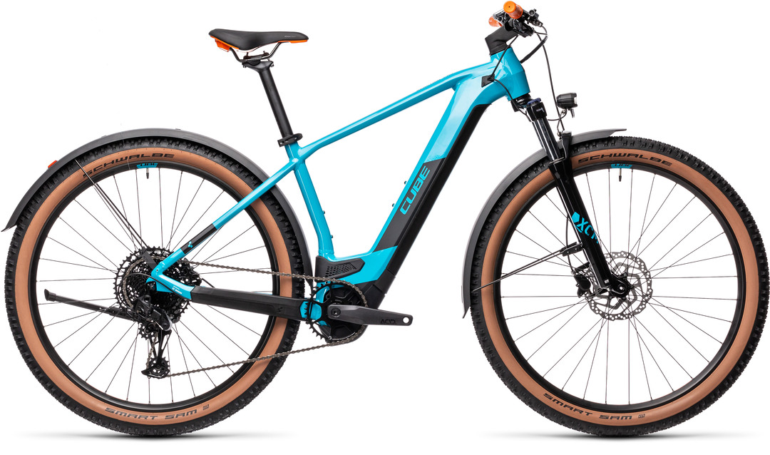 Cube Reaction Hybrid Pro 500 29 Allroad petrol´n´orange