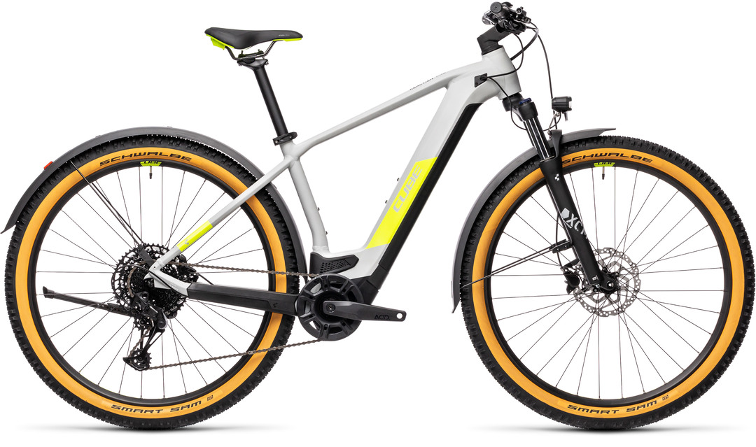 Cube Reaction Hybrid Pro 500 29 Allroad grey´n´yellow