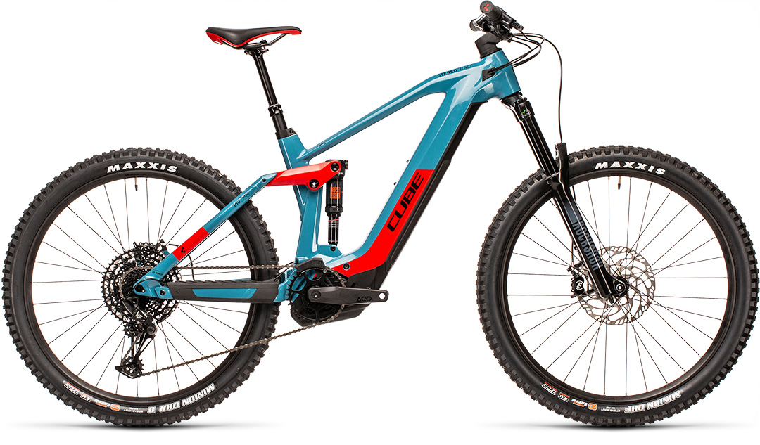 Cube Stereo Hybrid 160 HPC Race 625 27.5 blue´n´red