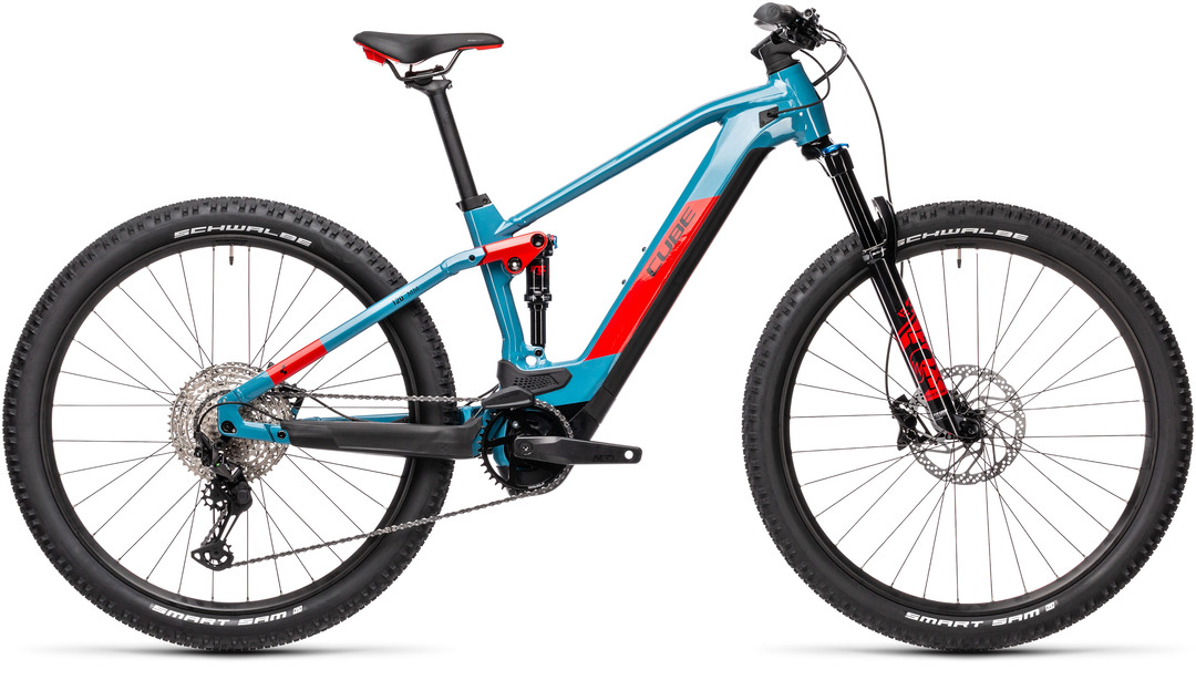 Cube Stereo Hybrid 120 Race 625 blue´n´red