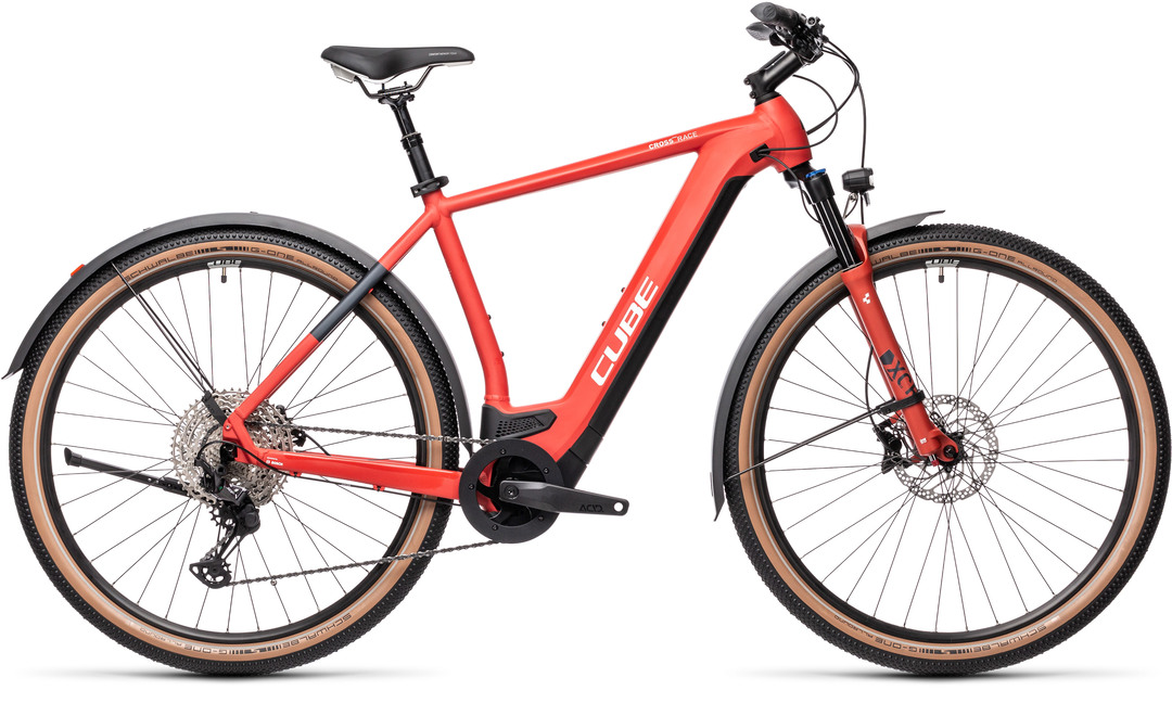 Cube Cross Hybrid Race 625 Allroad red´n´grey