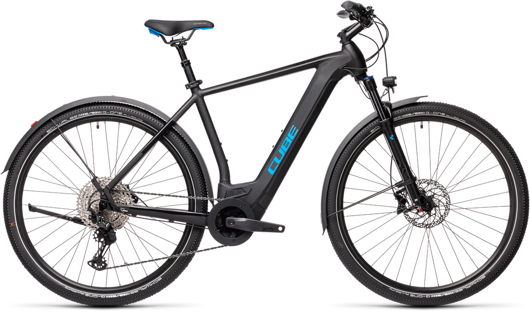 Cube Cross Hybrid Race 625 Allroad black´n´blue