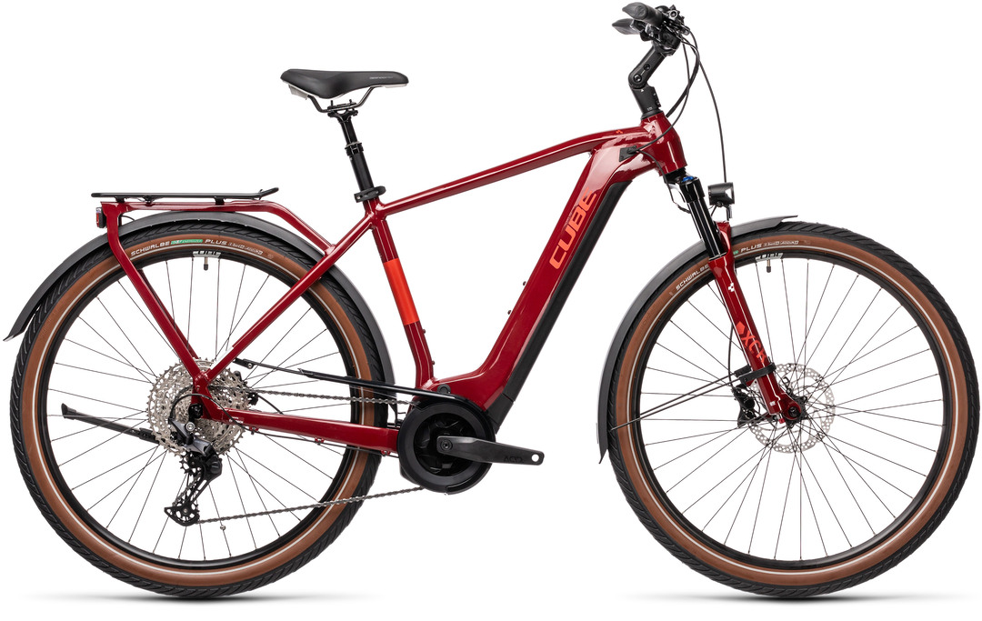 Cube Touring Hybrid EXC 625 red´n´grey