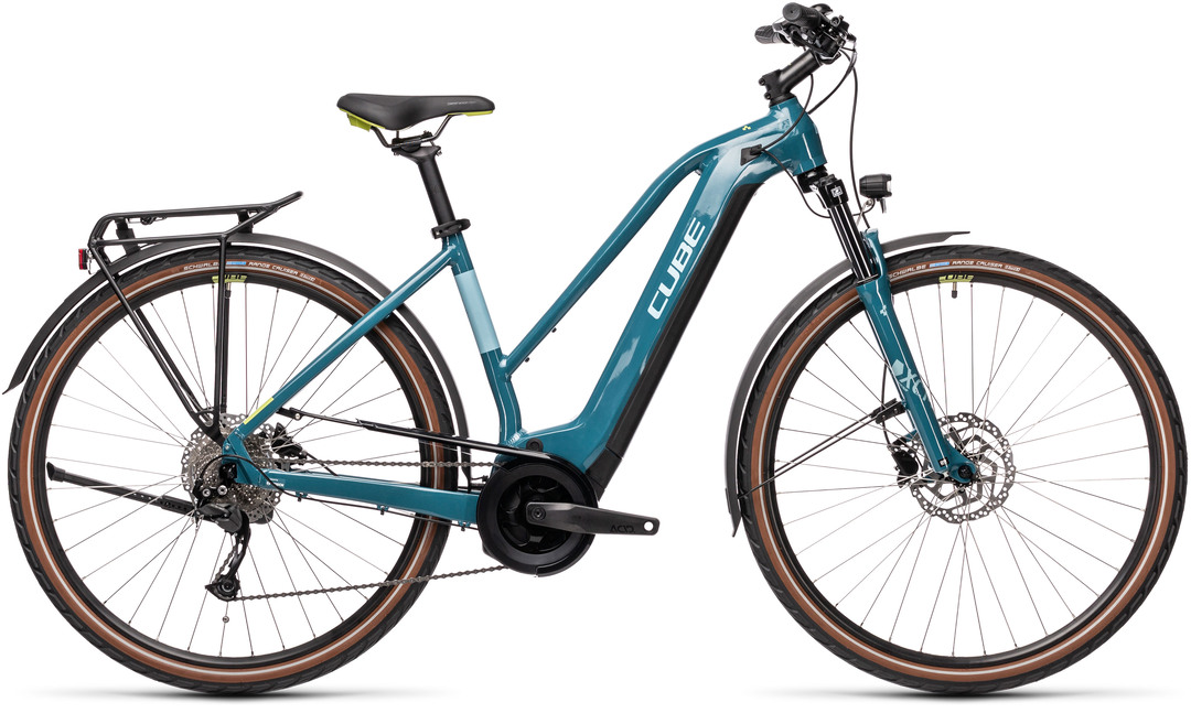 Cube Touring Hybrid ONE 625 blue´n´green