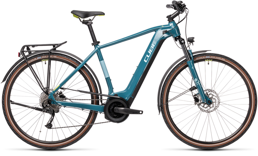 Cube Touring Hybrid ONE 500 blue´n´green